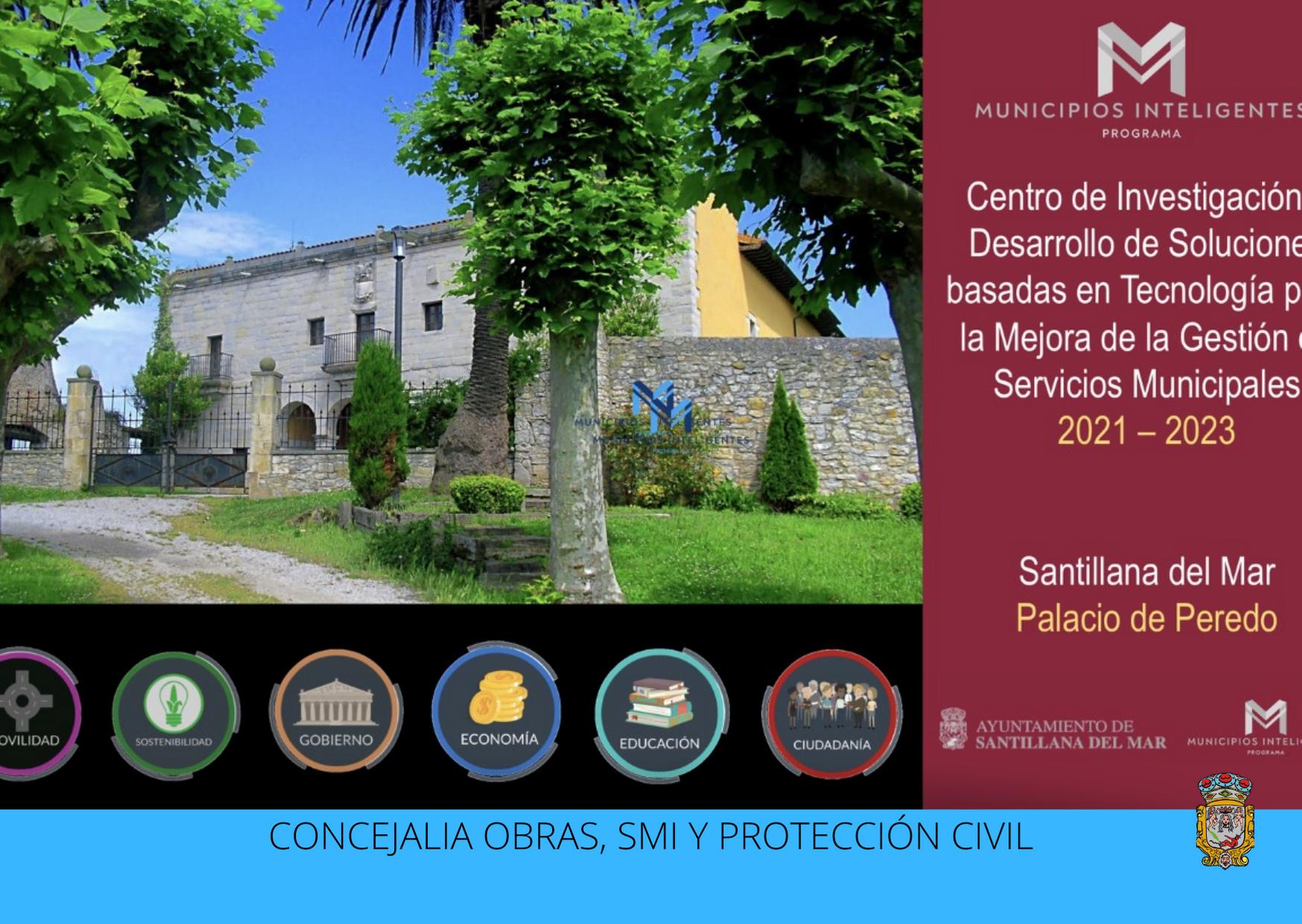Santillana del Mar presenta su proyecto a Besaya Europa para convertirse en un referente tecnológico