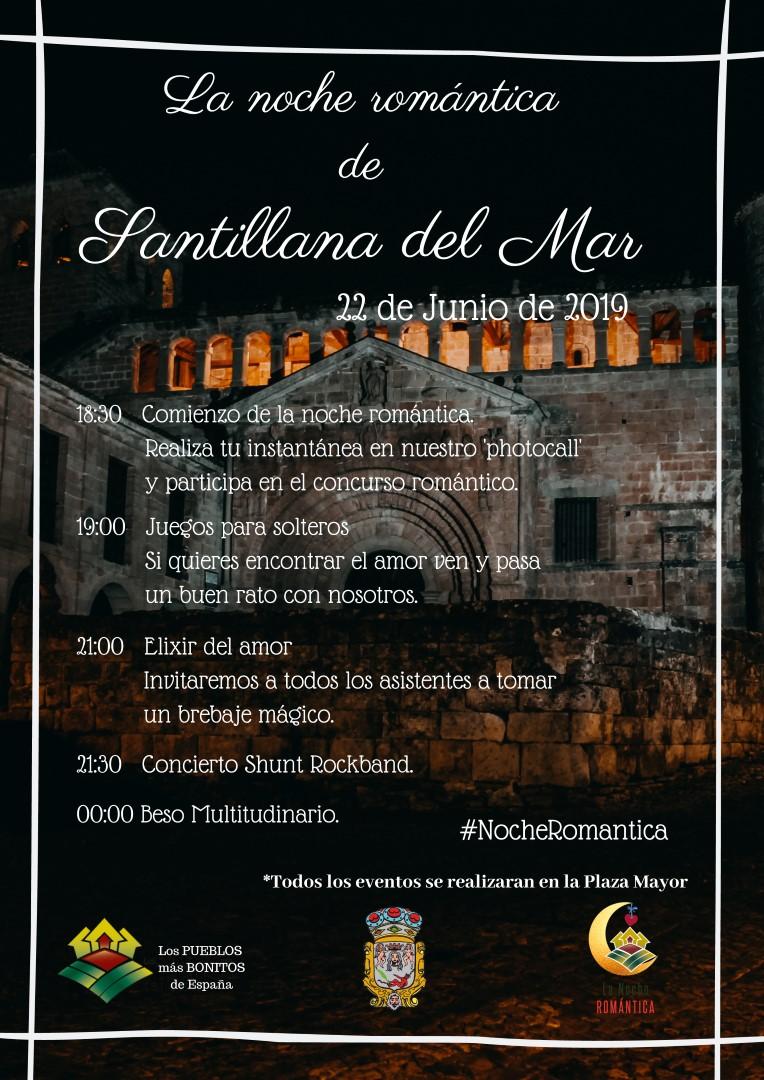 LA NOCHE ROMANTICA DE SANTILLANA DEL MAR