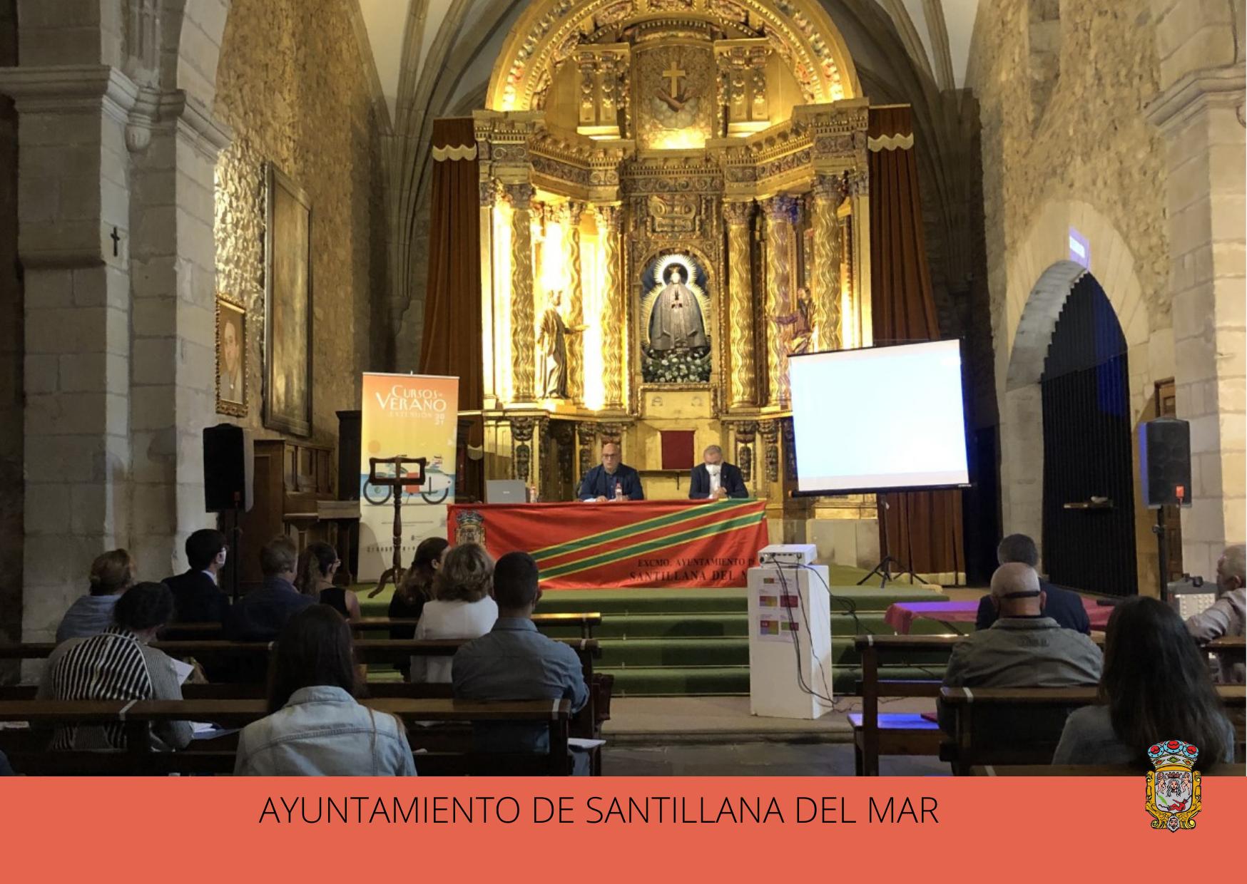 El Museo Diocesano acoge el primer Curso de Verano de la Universidad de Cantabria en Santillana del Mar