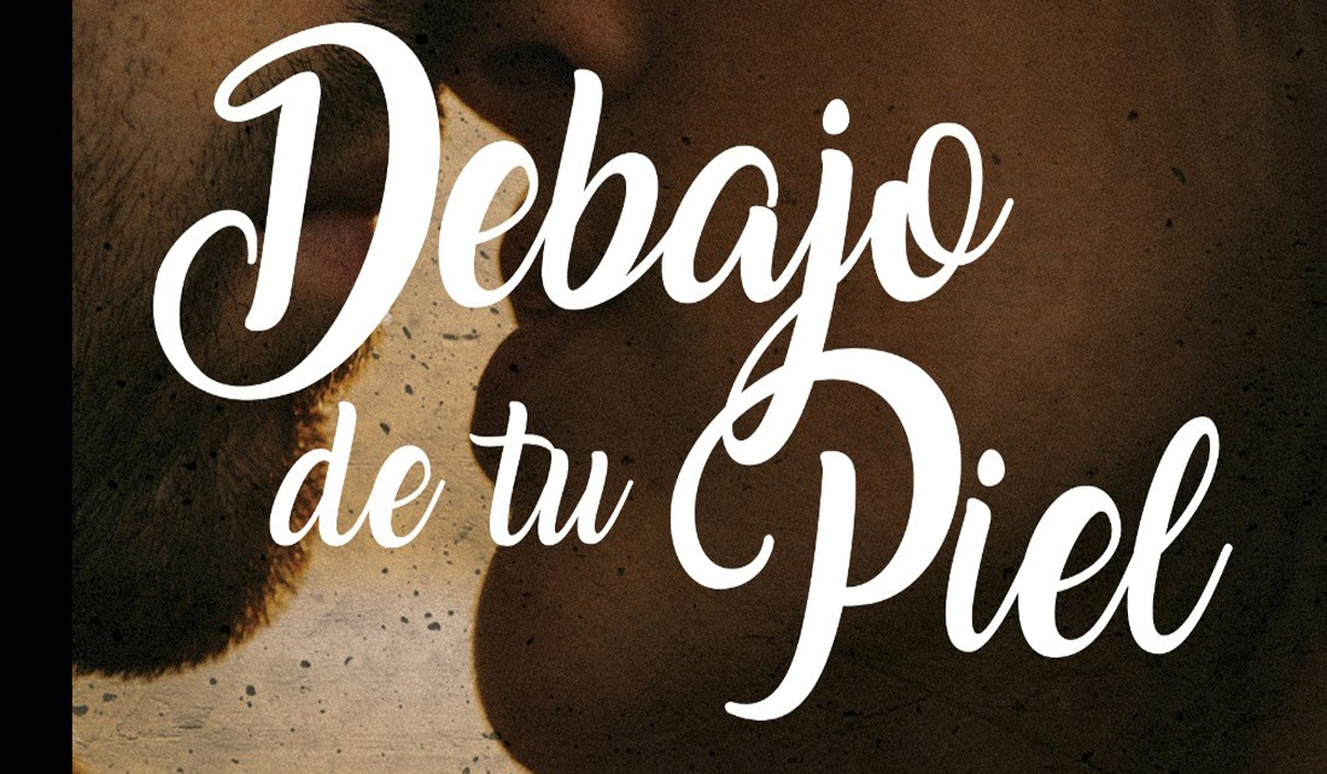 Cartel presentacion libro David Lopez 'Debajo de tu piel(1)'