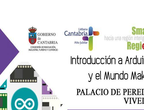 """El ayuntamiento de Santillana del Mar convoca plazas para el curso """"Introducción a Arduino y al mundo Maker"""""""