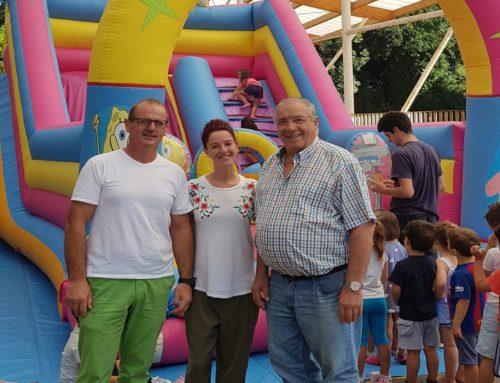 Finaliza el campamento de verano organizado por el ayuntamiento de Santillana del Mar récord de participación.