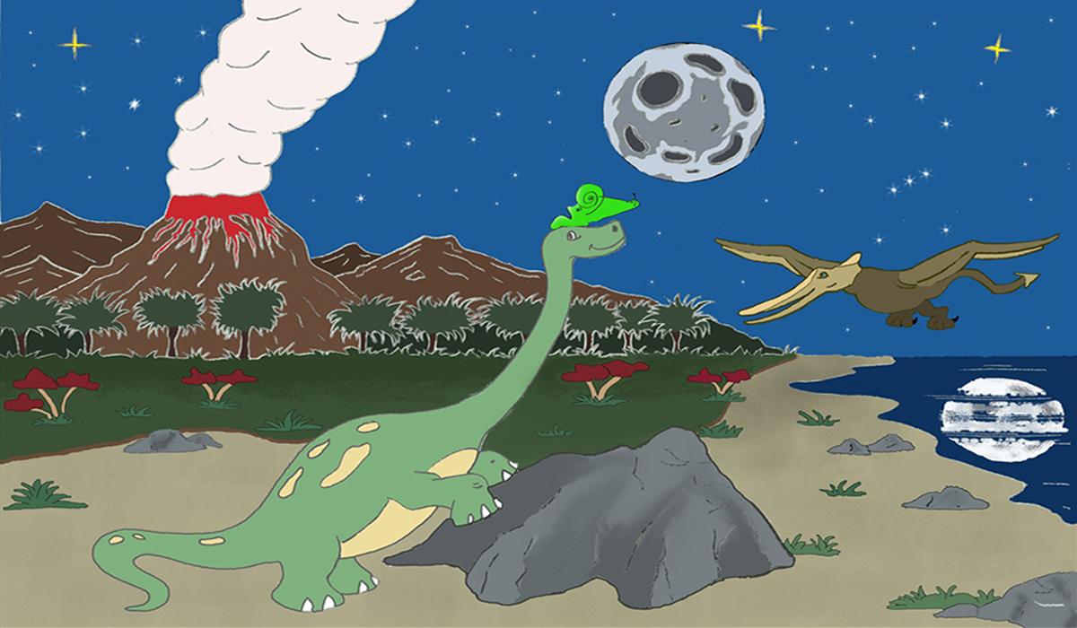 La musical historia de Meme el caracol prehistórico