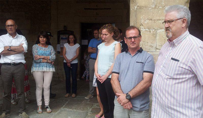 Minuto de silencio en Santillana del Mar en homenaje a Miguel Ángel Blanco