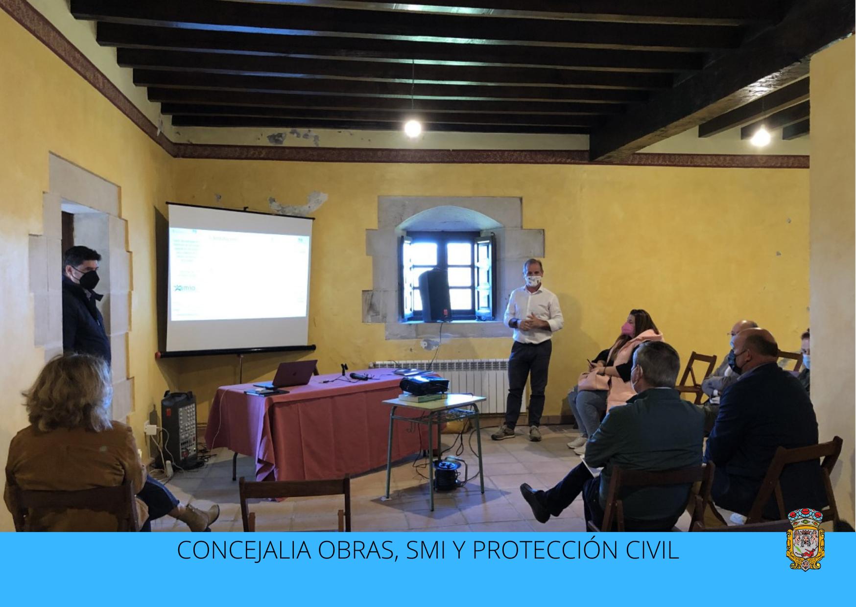 El Ayuntamiento de Santillana del Mar presenta el proyecto de investigación y desarrollo Palacio de Peredo
