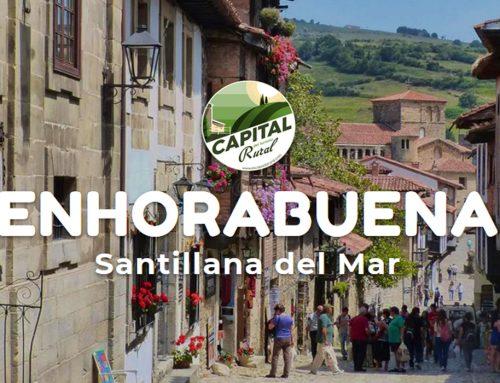 Santillana del Mar se convierte en capital del turismo rural 2019