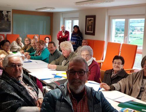 """La concejalía de servicios sociales de Santillana del mar clausura el taller """"volver a aprender"""" destinado a los mayores de municipio."""