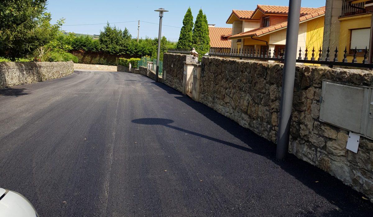 Asfaltado carreteras en Viveda_2018