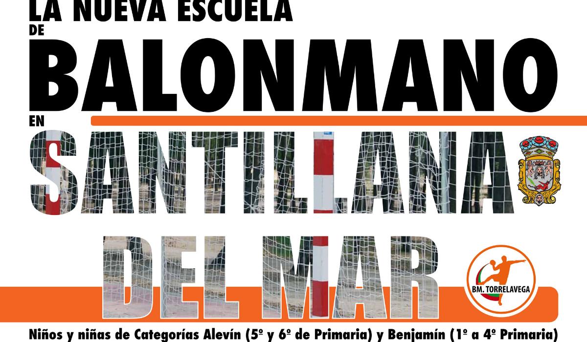 Nace la nueva escuela de Balonmano en Santillana del Mar