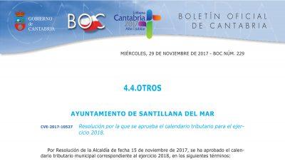 aclaracion IBI Santillana del Mar