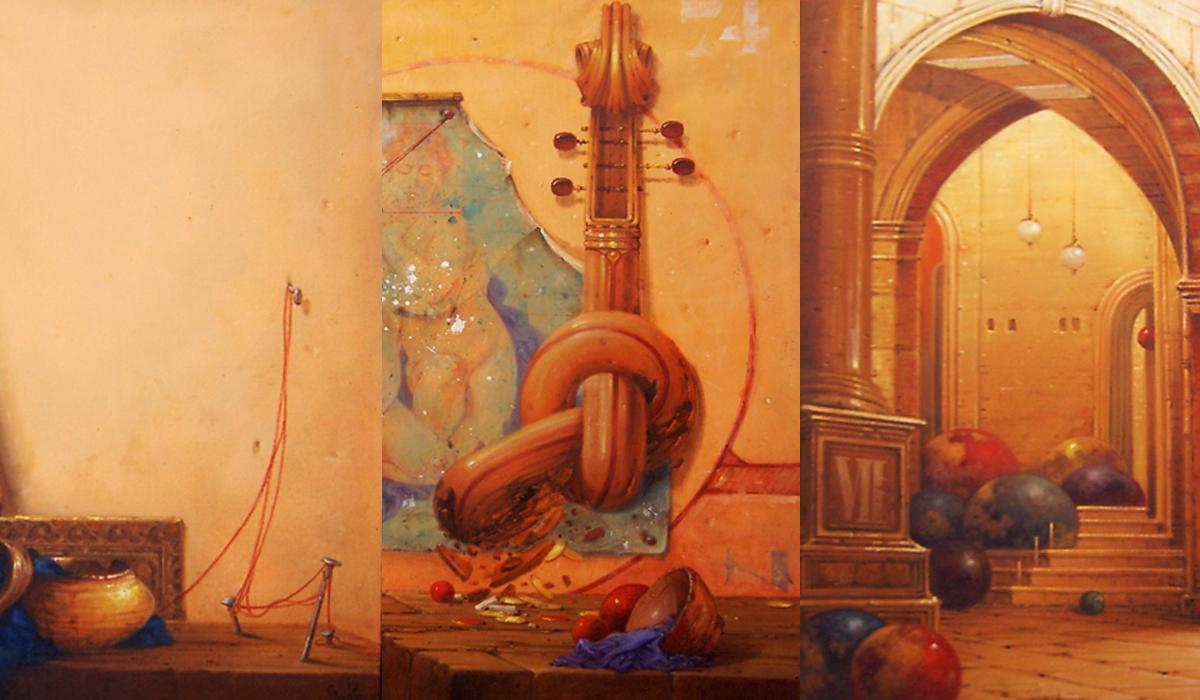 exposición de Antonio Rodríguez Yuga 2019