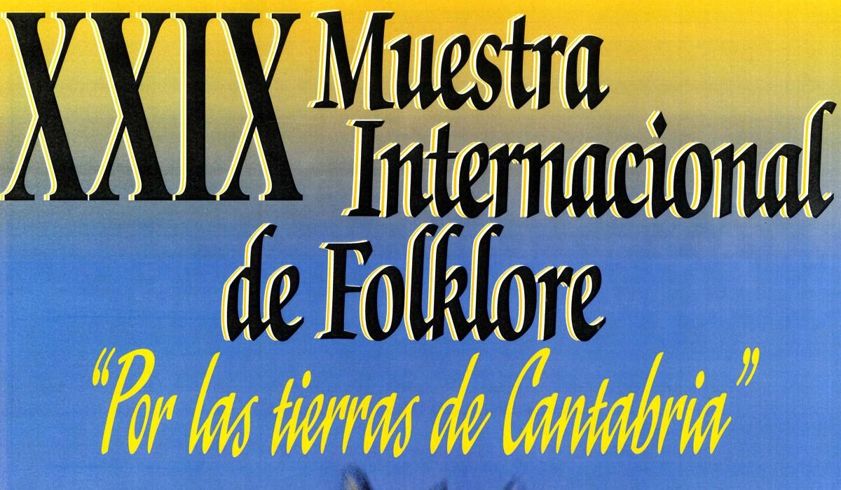 """XXIX Muestra Internacional de Folklore. """"Por las tierras de Cantabria"""". Ballet Folklorico """"Tanok – Krasnodar"""""""