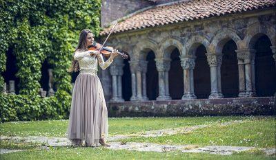 """Conciertos de violín y de órgano, propuesta del programa """"Santillana al aire"""""""