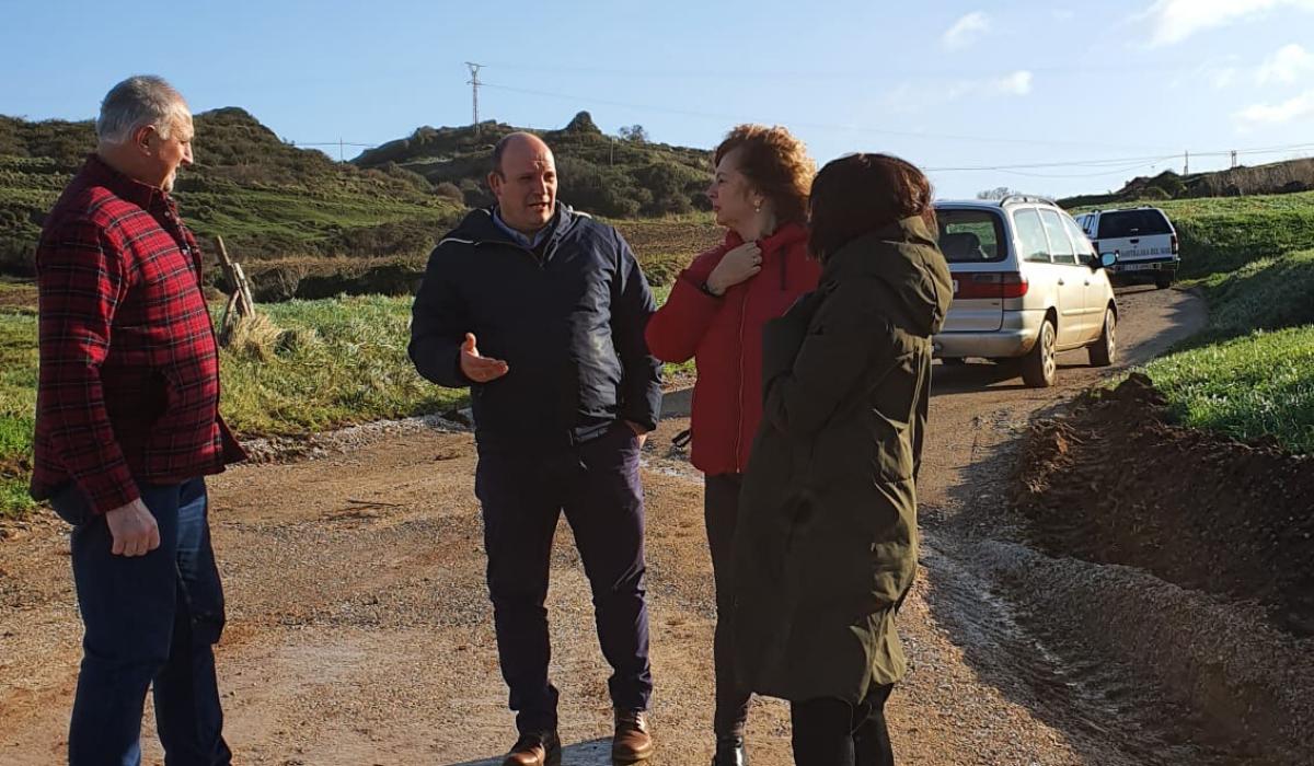 El Gobierno de Cantabria y el Ayuntamiento trabajan para mejorar las carreteras de Ubiarco