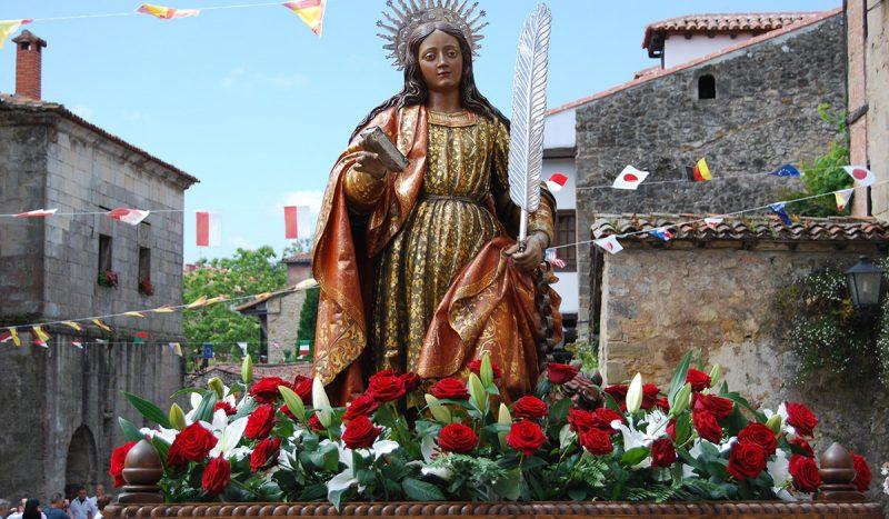 Santillana Del Mar celebra sus fiestas patronales de Santa Juliana